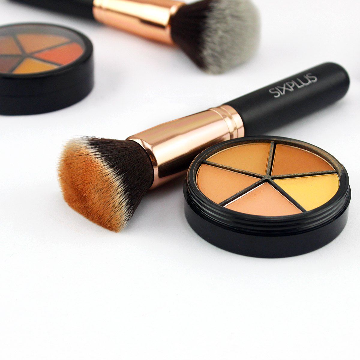 flat top buffing foundation brush Quality makeup