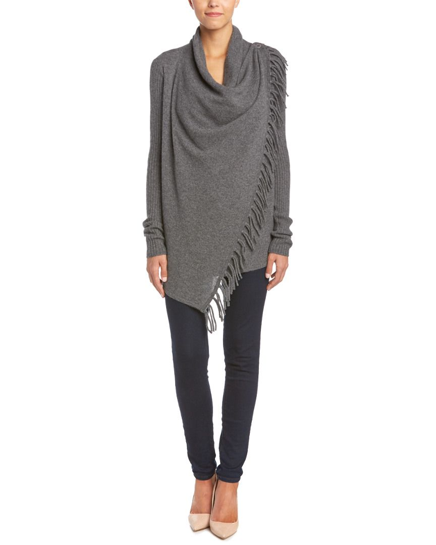 Cullen Cashmere Wrap Cardigan is on Rue. Shop it now. | When the ...