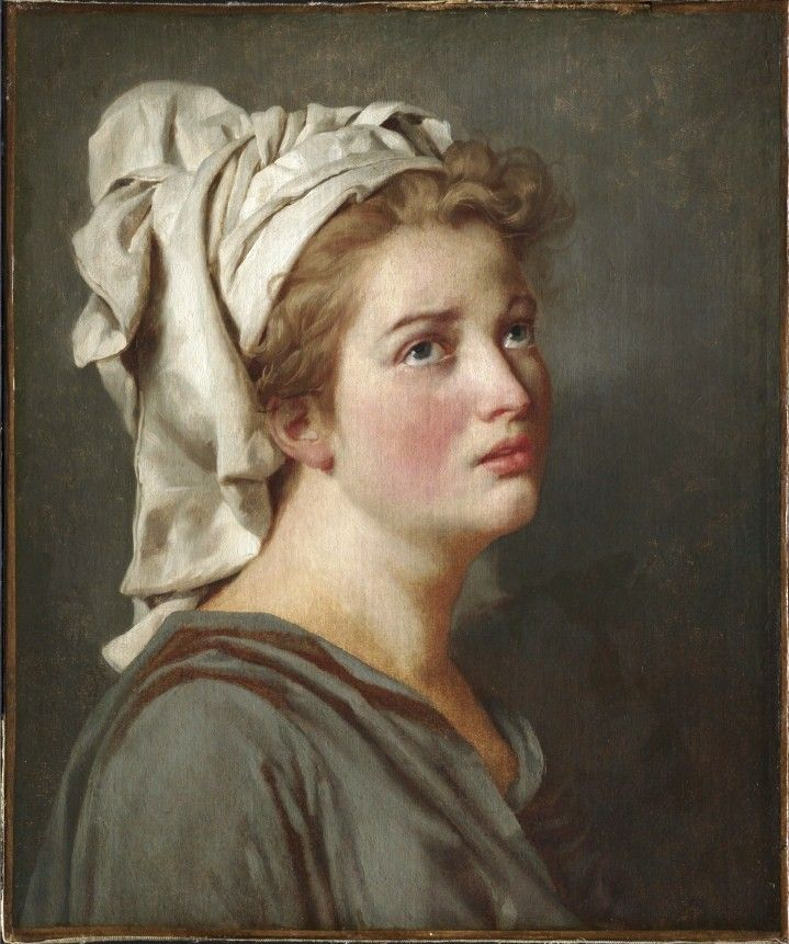 jacques louis david french young w a turban 18th century acircmiddot jacques louis david french 1748 1825 young w a