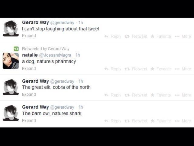 Gerard Way's twitter :)