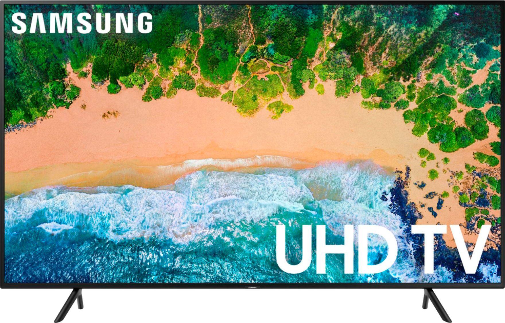 Best Buy Samsung 58 Class Led 6 Series 2160p Smart 4k Uhd Tv With Hdr Un58nu6080fxza Uhd Tv Smart Tv Samsung Smart Tv