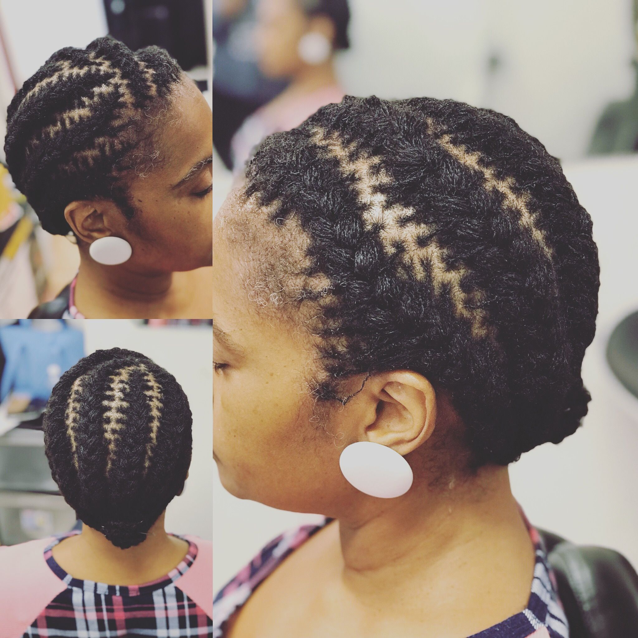 Sisterlocks By Tressesofessence French Braid Locs