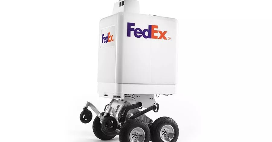 Startups Do It Amazon Does It And Now Even Fedex Is Doing It Experimenting With Robots For Short Range Deliveries Today Delivery Robot Self Driving Trials