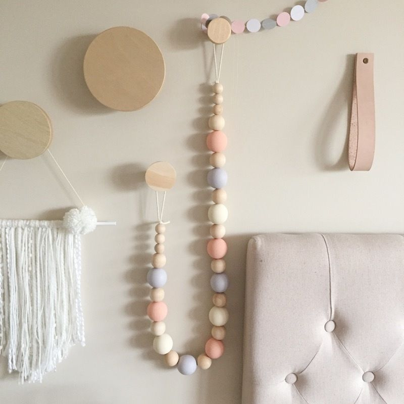 Image of Wooden bead garland