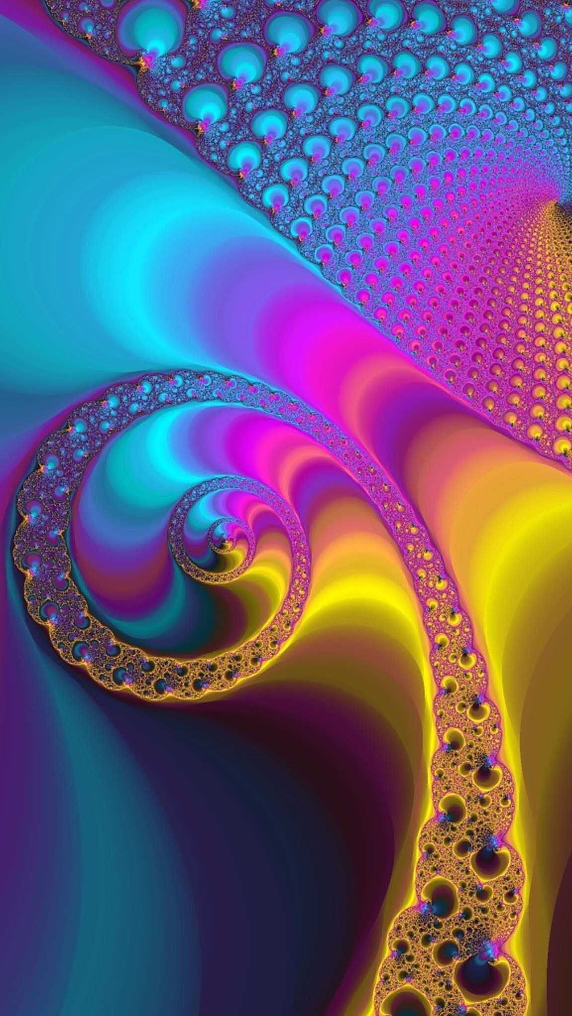 HD iPhone wallpaper Abstract Ipad wallpaper, Fractals