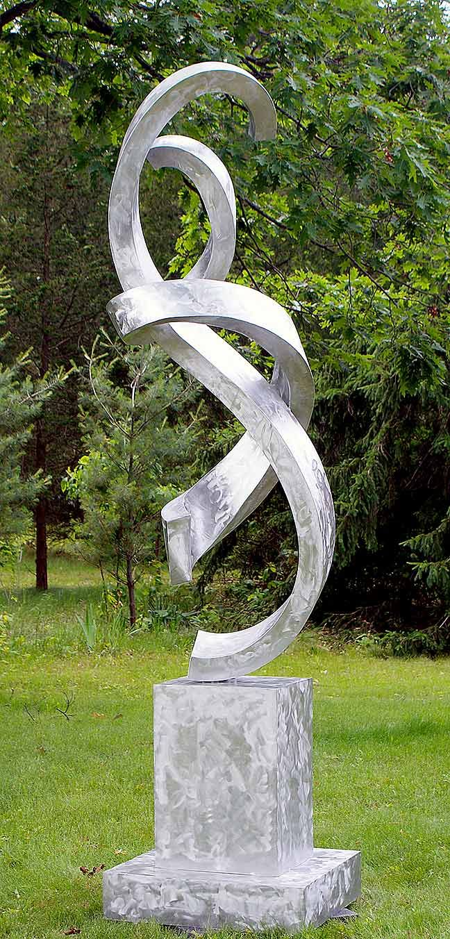 Pas De Deux Sculpture Large Landscape Sculpture Metal Sculpture Art Welding Art