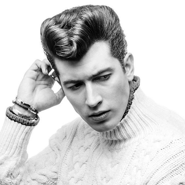 Pin By Martin Grund On Hair Mens Hairstyles Pompadour Mens Hairstyles Greaser Hair