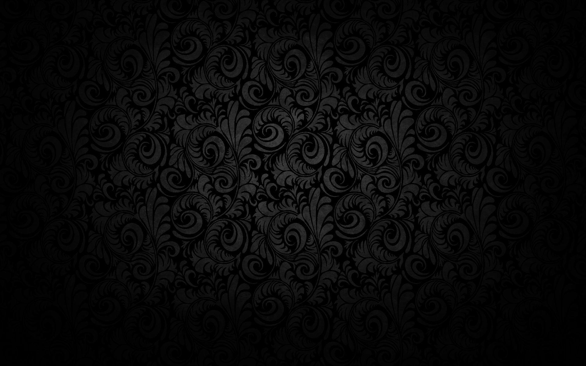 Textures Wallpapers Black Floral Texture Pattern Designbackground Wallpaper Black Hd Wallpaper Dark Black Wallpaper Gothic Wallpaper