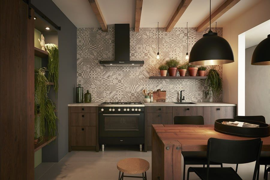 Koel Keukens Keukentegels : Keller keuken ruw eiken keukenstudio maassluis #kitchen