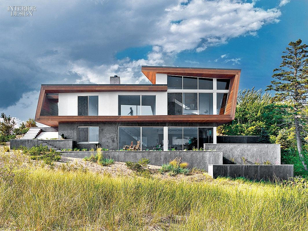 What Is Bauhaus Style bauhaus style cape cod house gets a guesthouse by hariri hariri