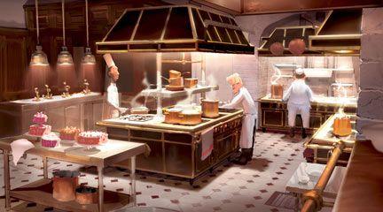 Image Ratatouillea4 Jpeg Art Conceptuel Disney Belle Cuisine Cuisine