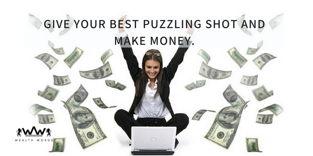 Give Your Best Crossword Puzzling Shot and Make Money