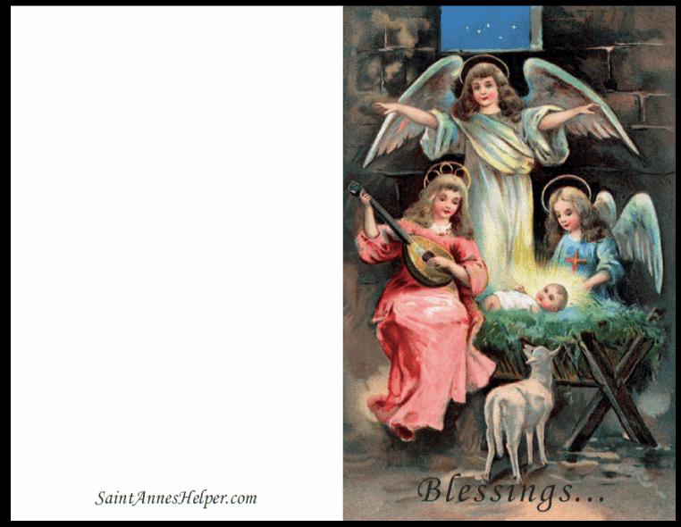 Beautiful Religious Christmas Cards.Printable Religious Christmas Cards Beautiful Religious Art
