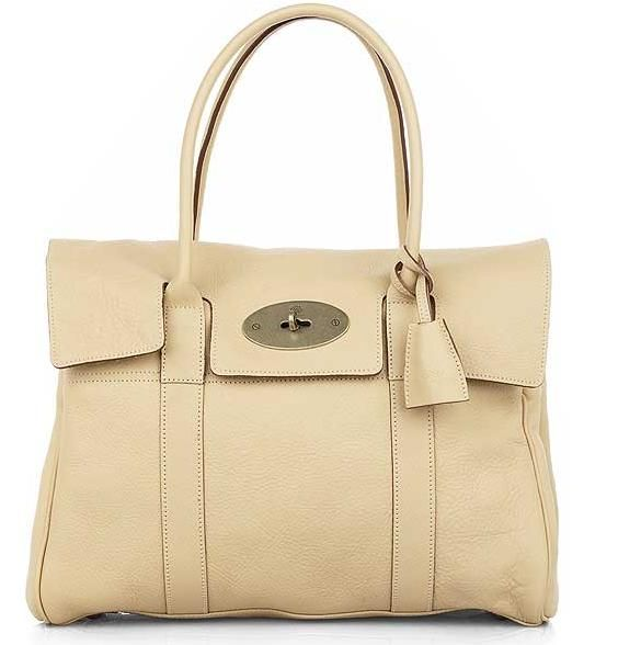 Mulberry Bayswater Bag In Vanilla