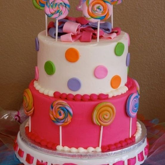 birthday cake for a sweet little girl by mollie best desserts on birthday cake images for a little girl