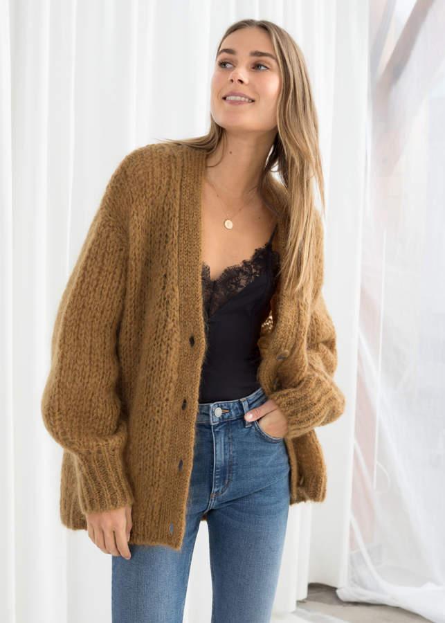 Plus size sweater Knit cardigan Loose sweater Bomber Cardigan Beige Multi size Camel sweater Long sweater coat Short overcoat Womens sweater
