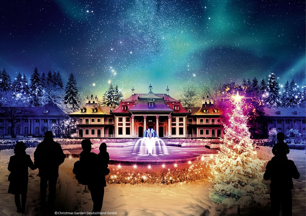Winterliche Lichtertour in den Schlosspark Pillnitz oder Vom ...