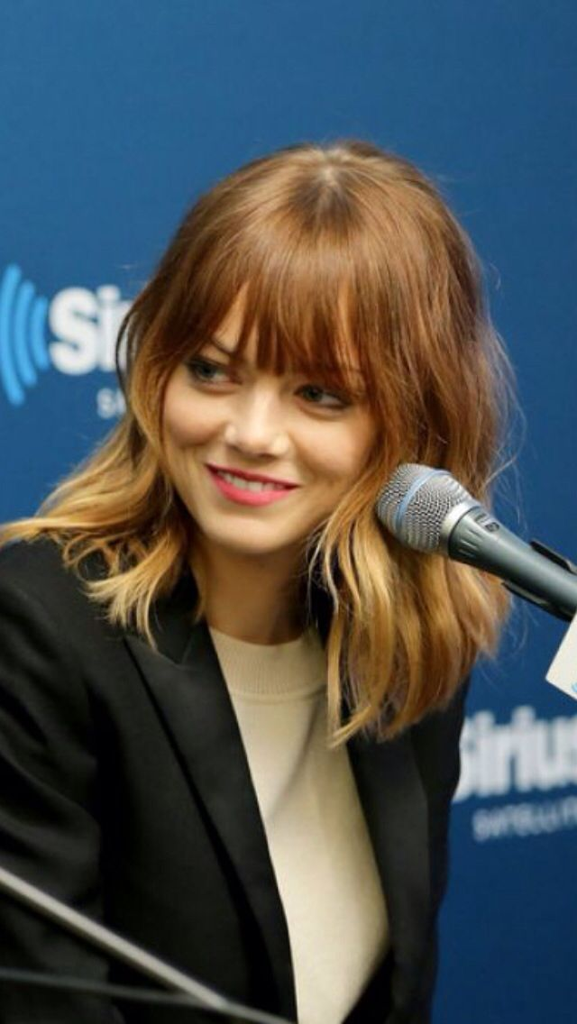 Emma bangs
