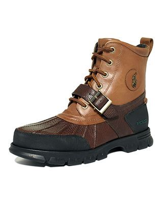 Polo Ralph Lauren Shoes, Dover Hi III Boots - Boots - Men - Macy's