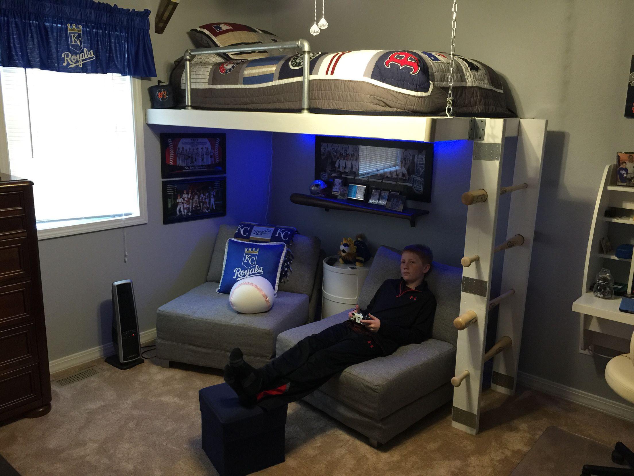 Loft Bed Diy Loft Bed Boys Bedrooms Boy Bedroom Design