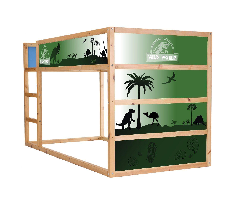 Dinosaur Sticker-Set for IKEA KURA - IM01: Amazon.co.uk: Kitchen ...