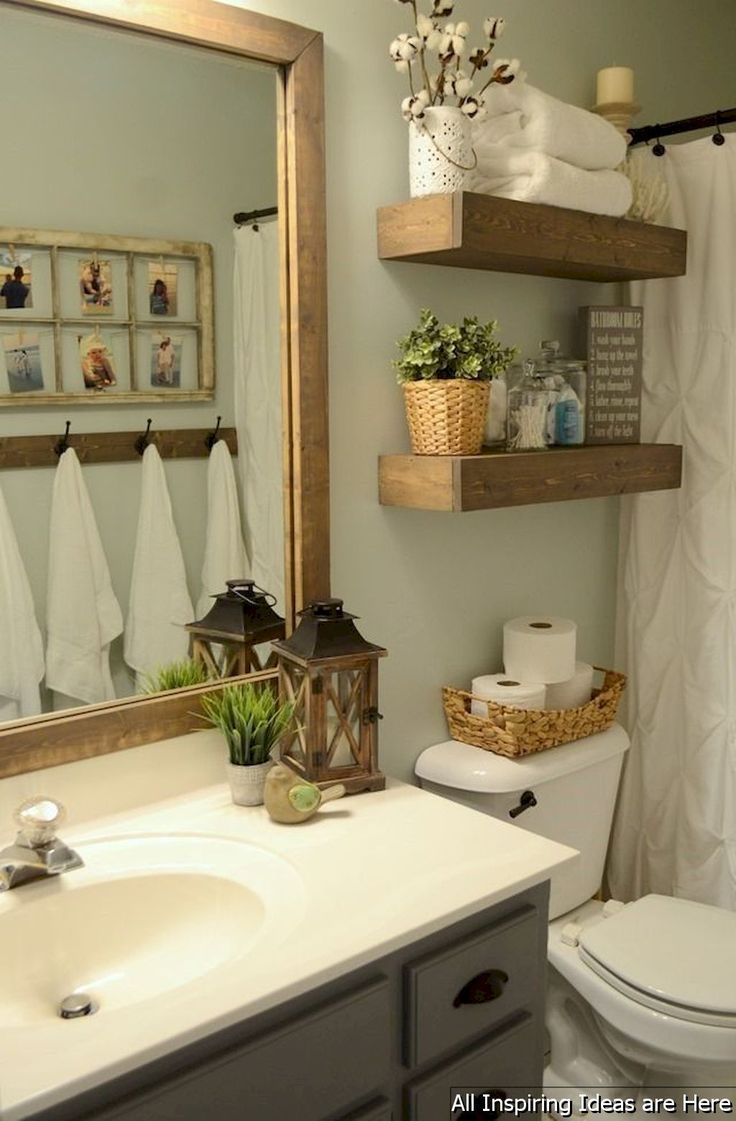 10 Most Beautiful Master Bathroom Ideas That Are Worth Checking For In 2020 Small Bathroom Decor Farmhouse Bathroom Decor Small Bathroom Remodel