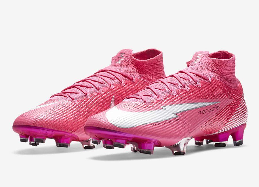 lógica Orbita como el desayuno  Nike Mercurial Superfly 7 Elite Mbappé Rosa FG - Pink Blast / Black / White  #Mbappé #nikefootball #footbal… | Pink soccer cleats, Soccer cleats nike,  Football boots