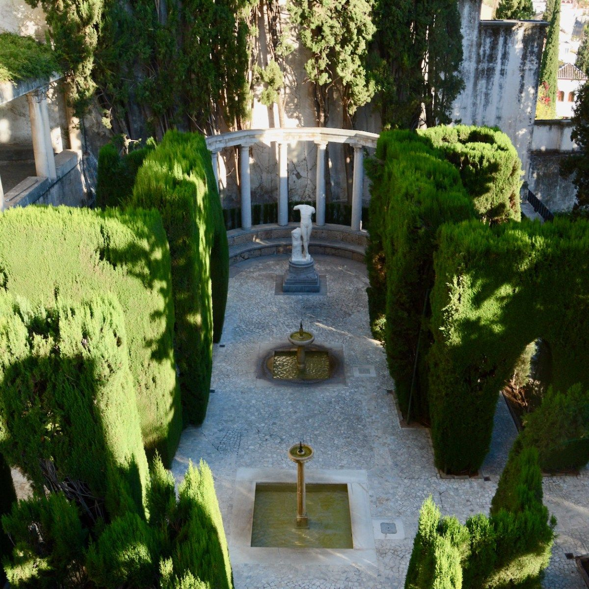 The Fundacion Rodriguez Acosta is a true hidden gem among sights in Granada and offten overlooked by tourists. This peculiar house should is a must see!