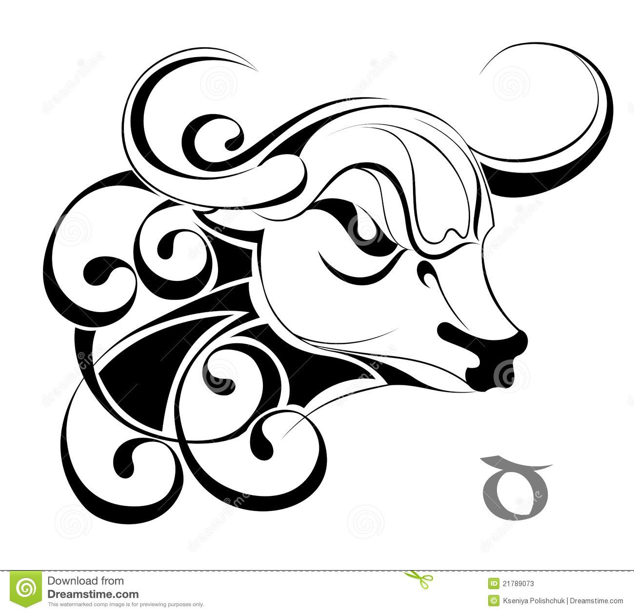 Zodiac Tattoos And Designs: Zodiac Sign Taurus Tattoo Art