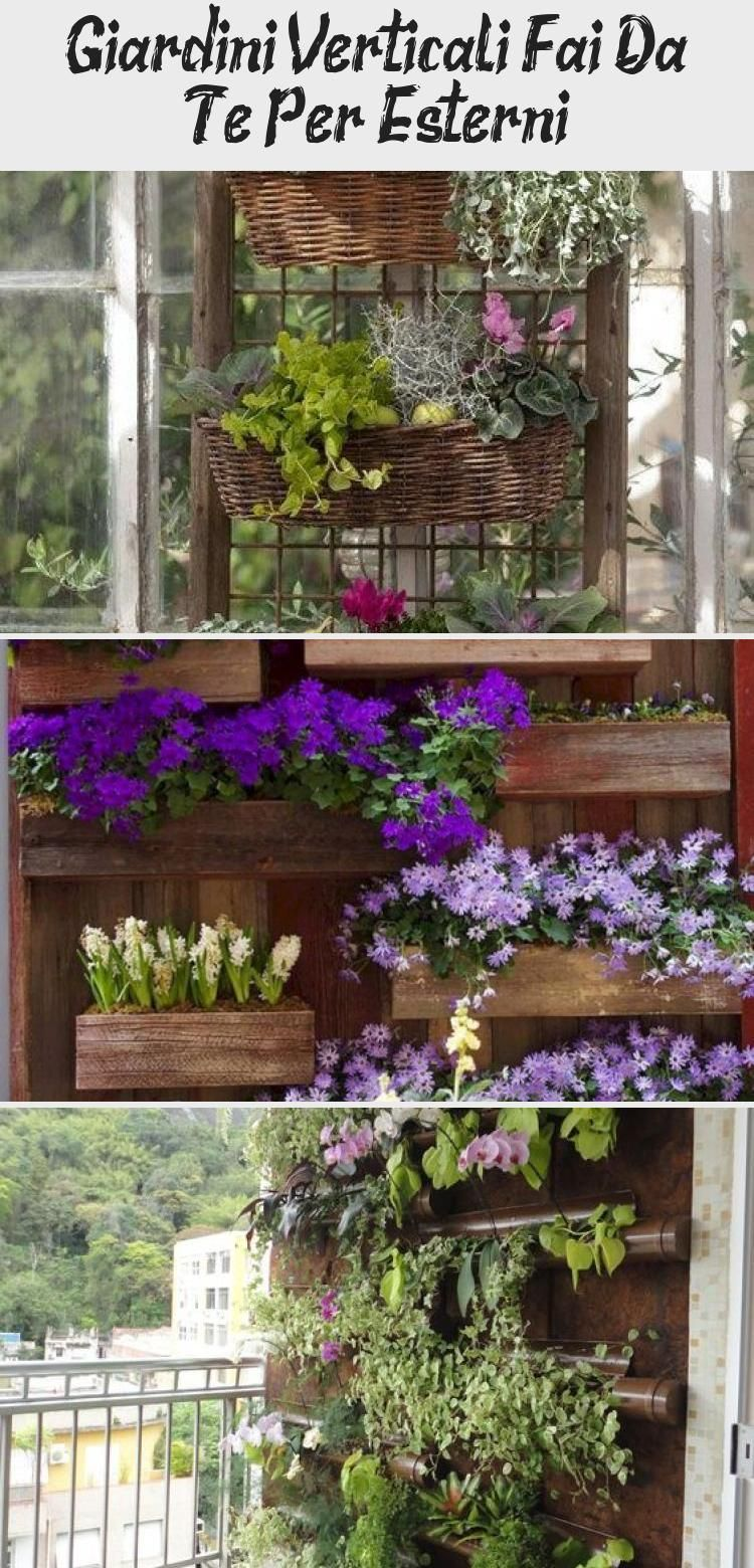 Giardini Verticali Fai Da Te giardini verticali fai da te per esterni | plants, garden