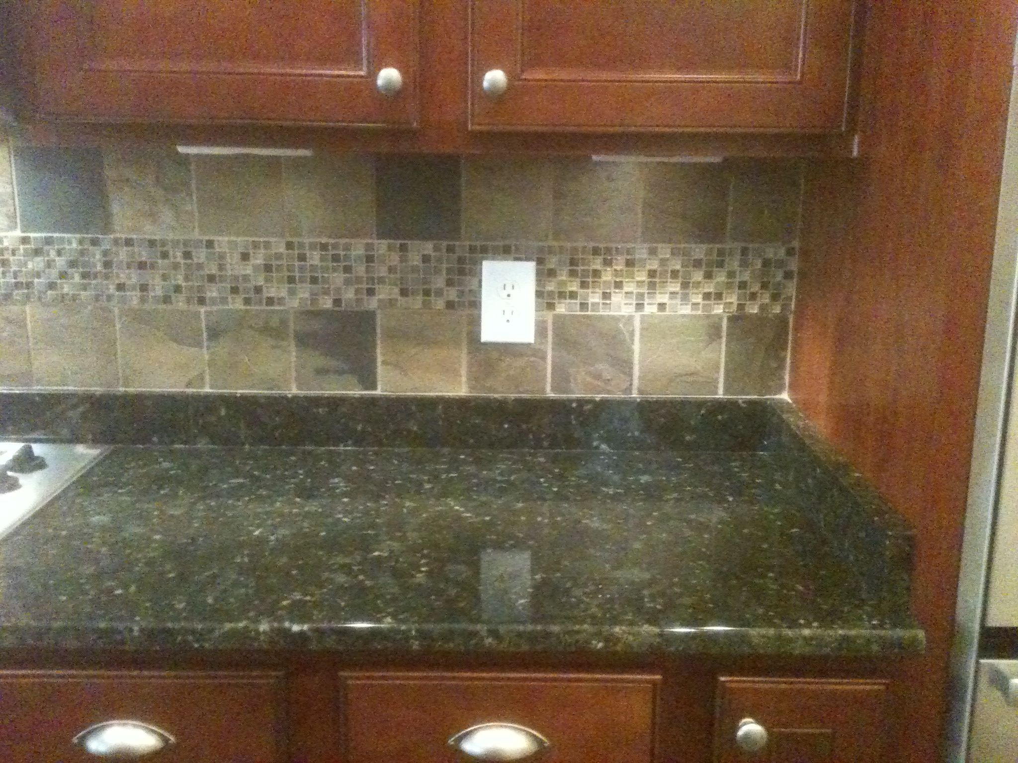 The Verde Butterfly Granite Counter Tops And The Original