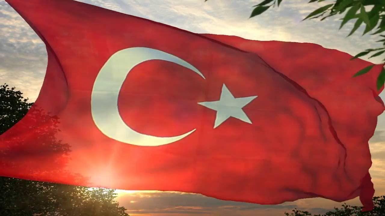 Facebook Profil Videosu Dalgalanan Turk Bayragi Resim Cerceve Turkler