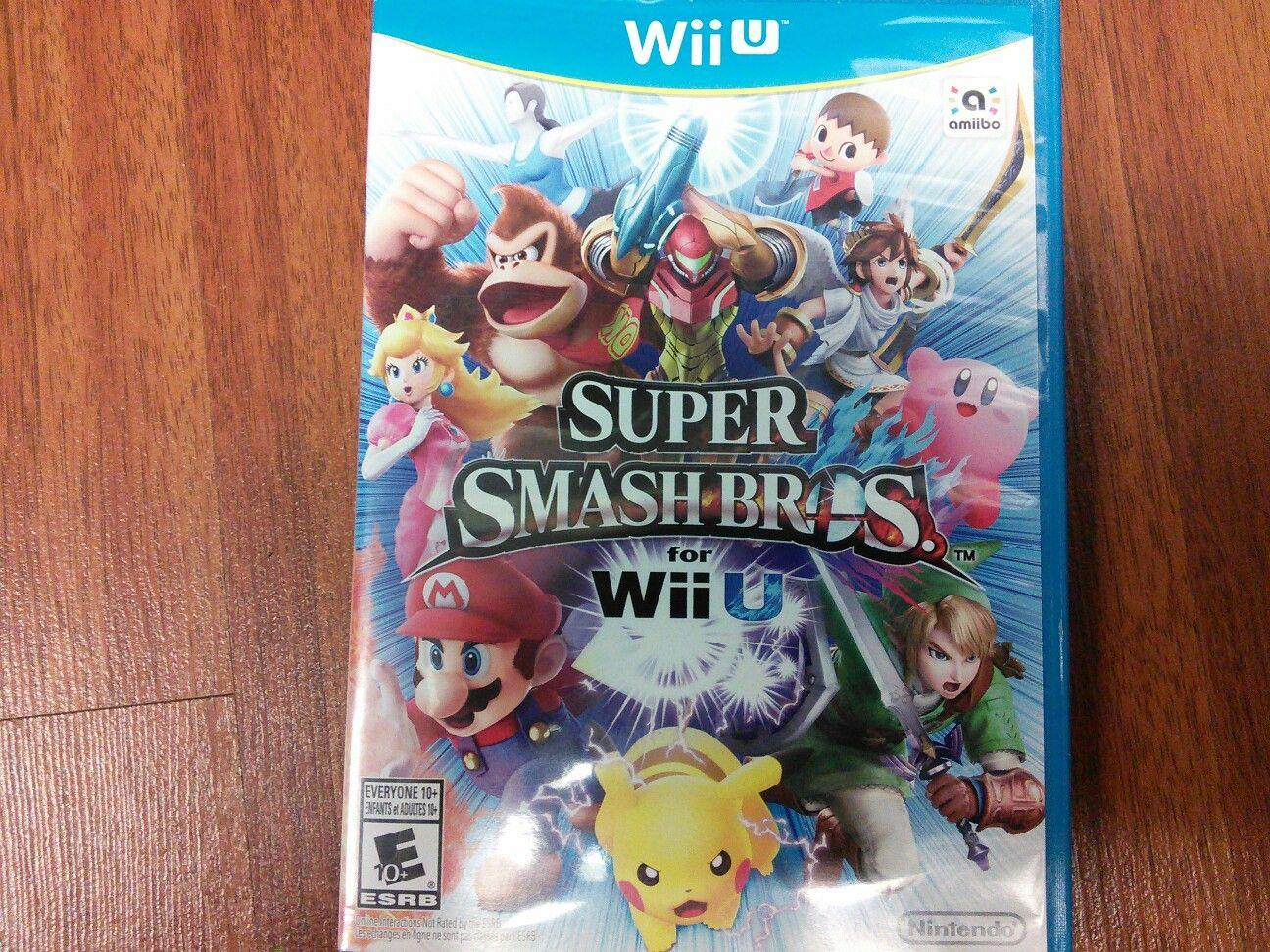 Tomorrow we are having a Super Smash Bros. Wii U
