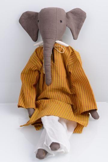 Silaiwali-Handcrafted Elephant Doll
