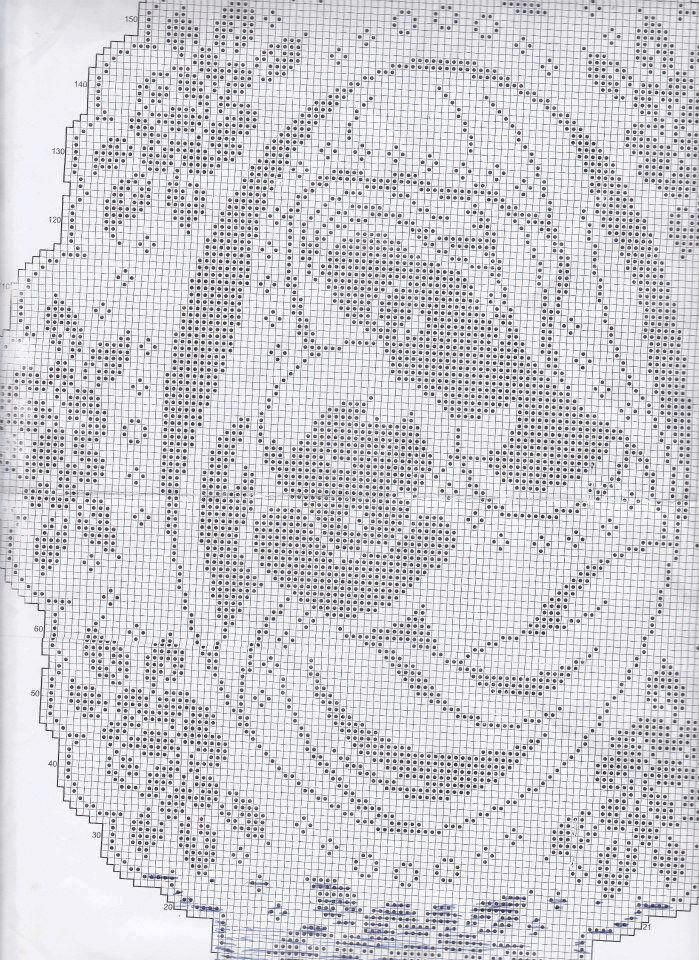 Donna & bambino   crochet red   Pinterest   Religiosas, Puntos y ...