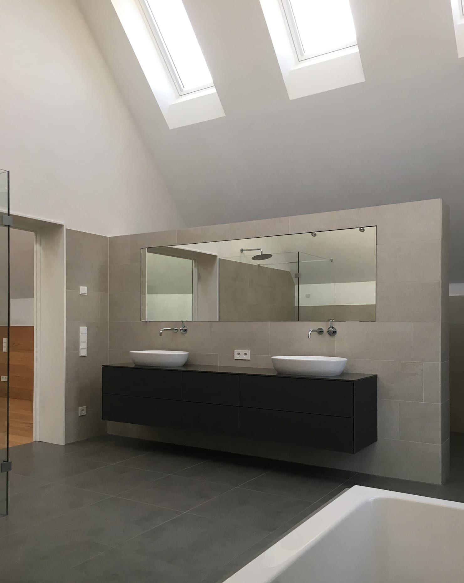 Umbau Und Sanierung Eines Winzerhofs In Klingenm Nsterpfalz Moderne Badezimmer