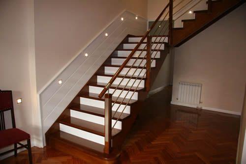 barandales de madera para escaleras escaleras