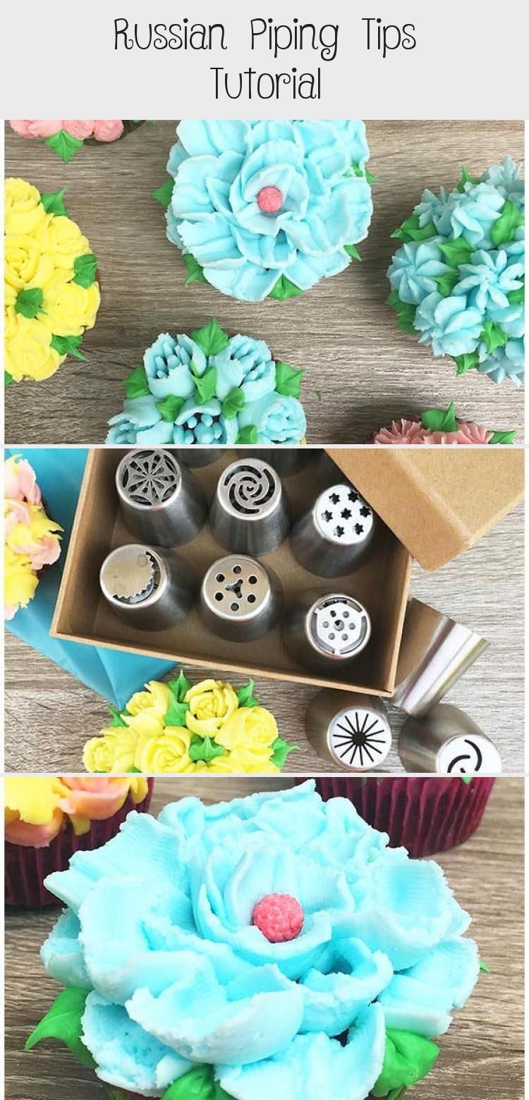 Russian Piping Tips Tutorial | Easy cake decorating ...