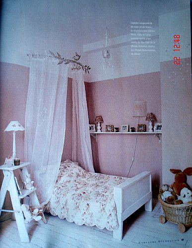 ciel de lit fille chambre de lou pinterest ciel de. Black Bedroom Furniture Sets. Home Design Ideas