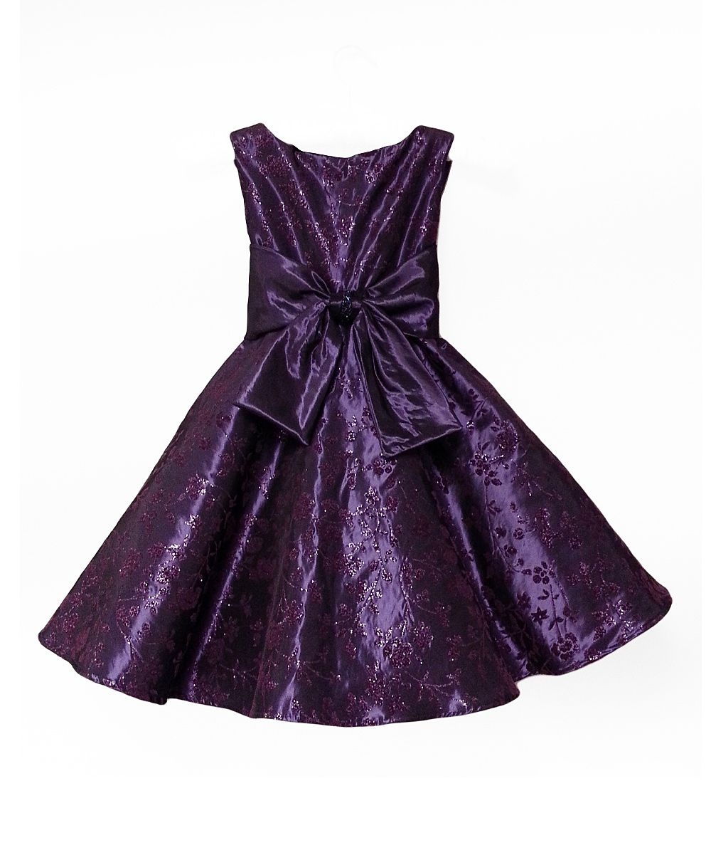67e16048e62d Purple Aviva Dress - Girls