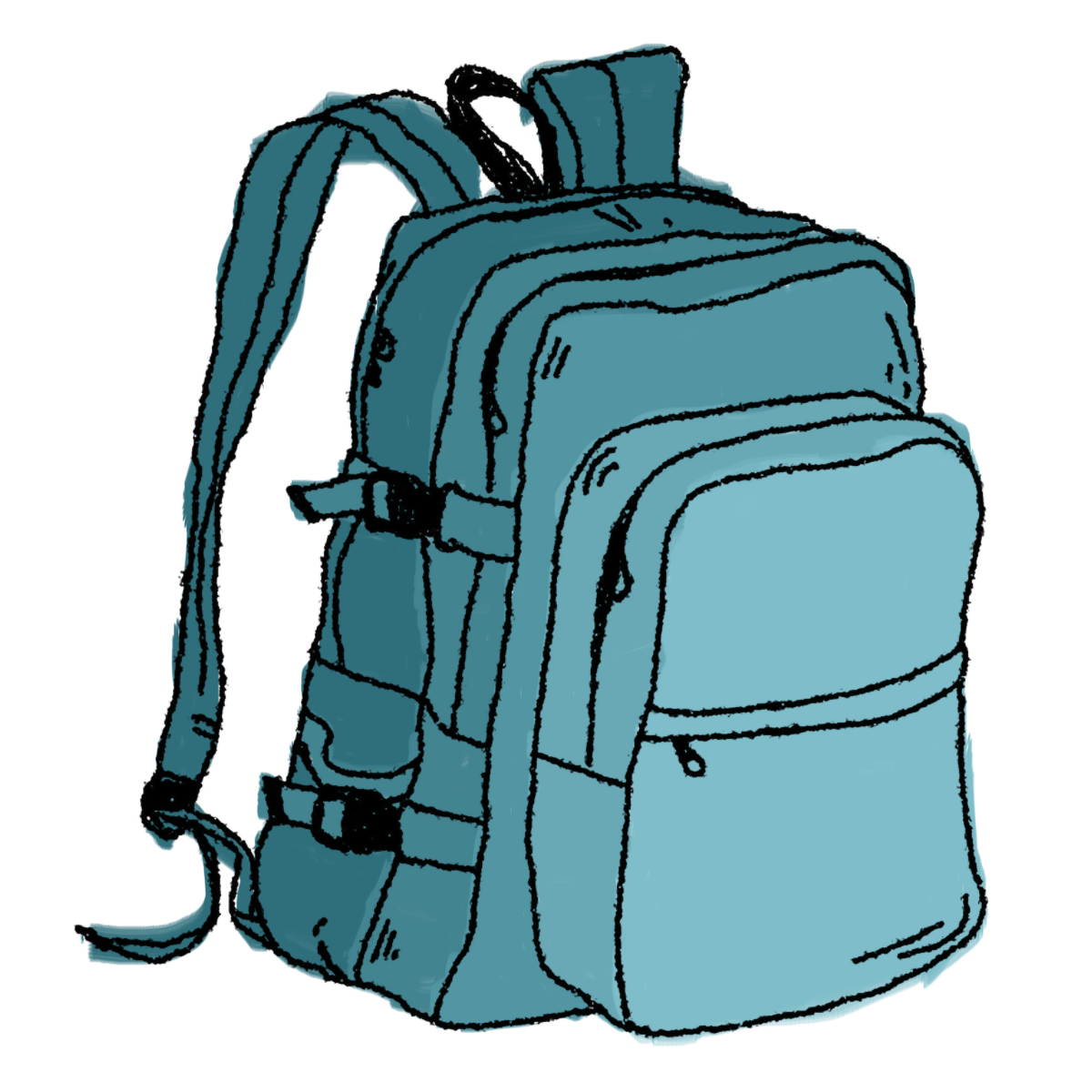 open backpack picture - HD1200×1200