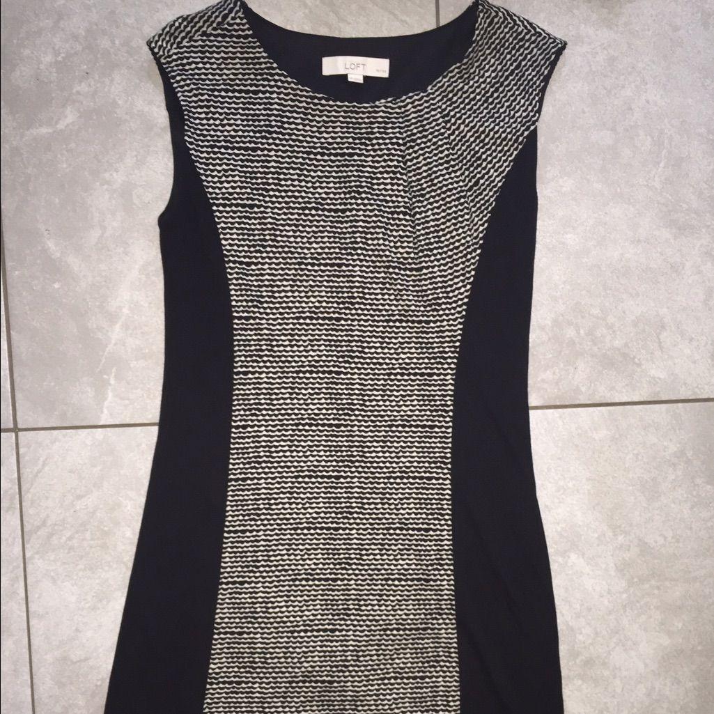 Loft Color-Block Dress