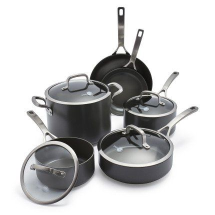 Scanpan Pro S5 10-Piece Cookware Set | Pinterest | Cookware set