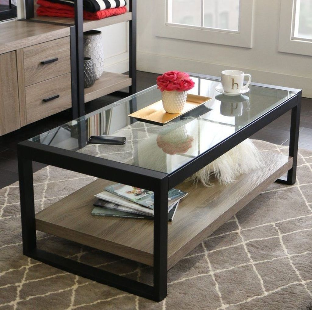 40 Amazing Modern Glass Coffee Table Design Ideas In 2021 Coffee Table Modern Glass Coffee Table Modern Living Room Table [ 1016 x 1024 Pixel ]