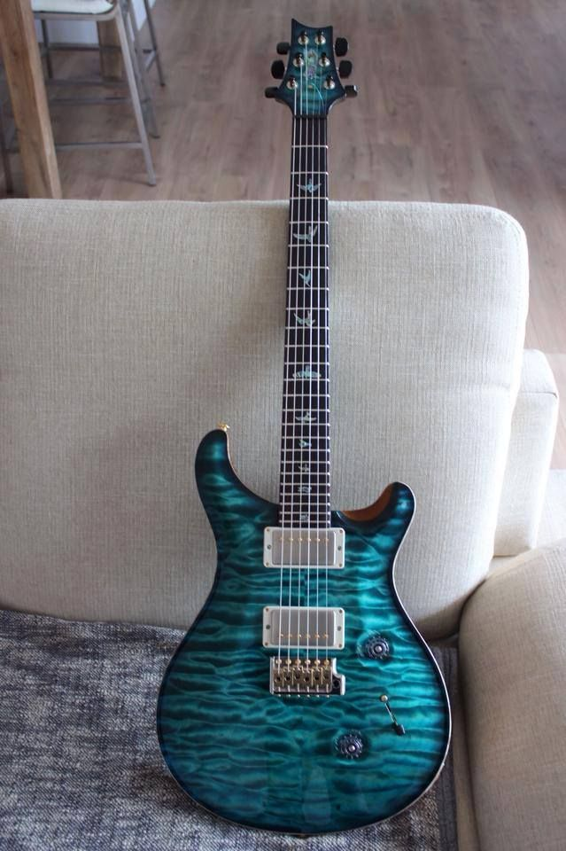 prs custom shop with matching headstock one of the best looking prs guitars i have ever seen. Black Bedroom Furniture Sets. Home Design Ideas