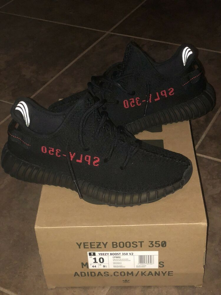 71a7fa5f2d4ab adidas Yeezy Boost 350 V2 Core Black Red SPLY Size 10  fashion  clothing   shoes  accessories  mensshoes  athleticshoes (ebay link)