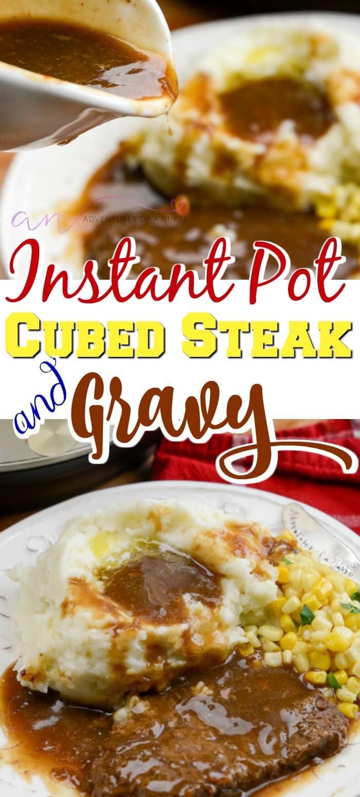 Instant Pot Cubed Steak And Gravy Recipe Recipes