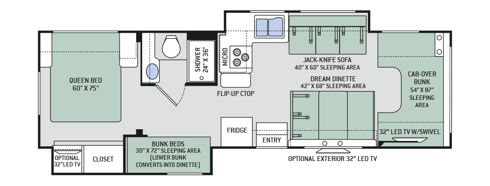 2017 Chateau Chateau 30D Class C Motorhome   camper fun   Pinterest   Rv