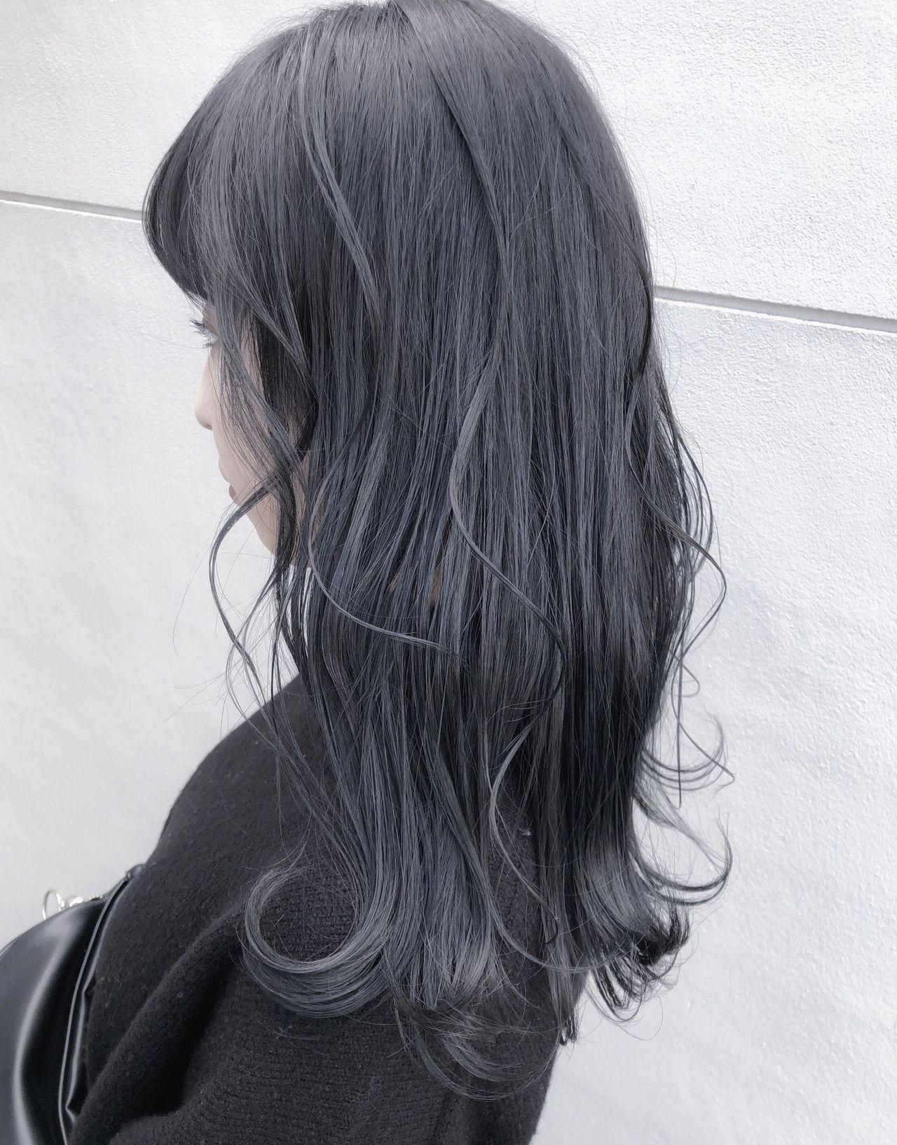 2019ss 人気暗髪ヘアカラー Hair Book Hair 髪 カラー 髪色