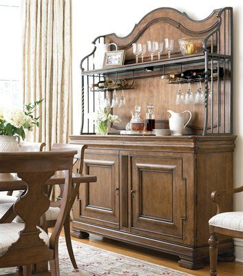 Pennsylvania House 2 Piece New Lou Versailles Buffet With Hutch Beauteous Pennsylvania House Dining Room Set Inspiration